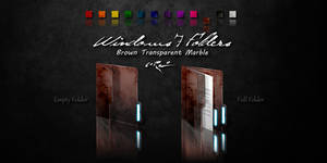 Brown Windows 7 Folders