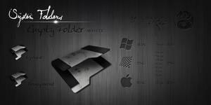White Empty Folder