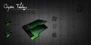 Green Empty Folder