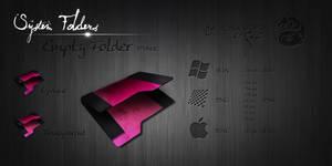Pink Empty Folder by Drawder