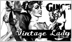 Vintage Lady by v3rtex