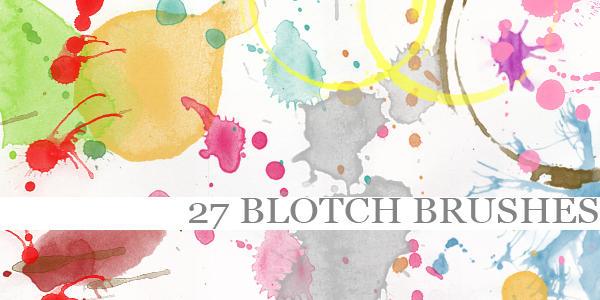 Blotch Brushes
