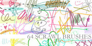 64 Scrawl Brushes