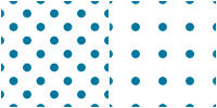 Polka Dot Pattern - blue white