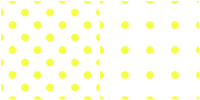 Polka Dot Pattern-yellow white by Aless1984