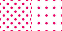 Polka Dot Pattern - pink white by Aless1984