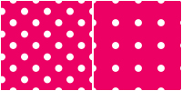 Polka Dot Pattern - white pink by Aless1984