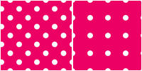 Polka Dot Pattern - white pink by Aless1984