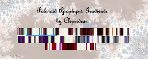 Polaroid Gradients Pack by Clepsidras