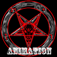 Pentagram (Animation) by DragonInfernoArt