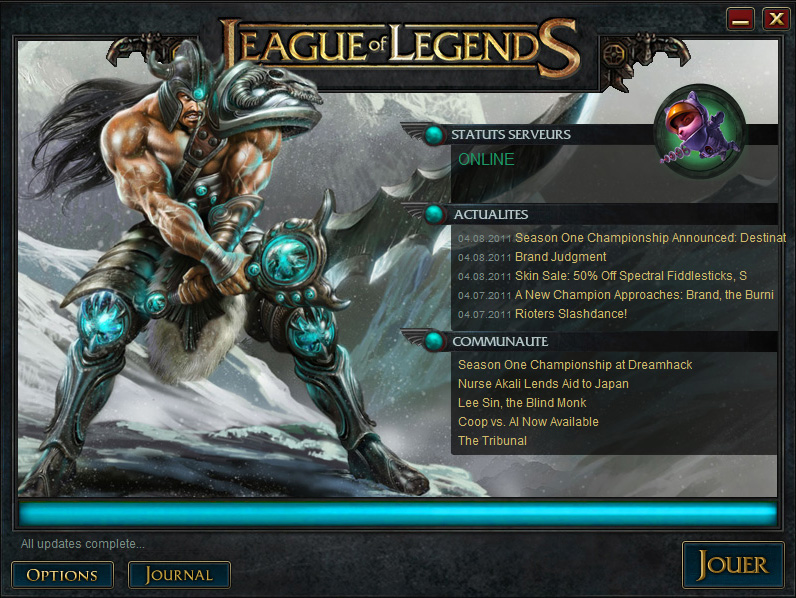 LOL personal Launcher - Tryn by Alstorius on DeviantArt