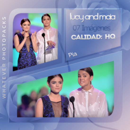 Photopack 0591 - Lucy Hale And Maia Mitchell by WhateverPhotopackss