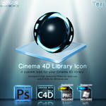 Cinema 4D Library Icon