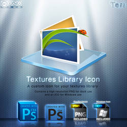 Textures Library Icon by Teri928