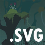 FREE BACKGROUND: Everfree Forest - SVG File