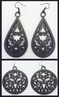 3D printed earrings no.1 by Nymonyrya