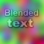 BLENDED TEXT runs on 2.4 by kward1979uk