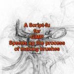 Gimp brush script