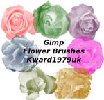 Gimp flower brush's