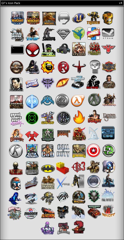 gf icon pack v4 by Gotchaforce