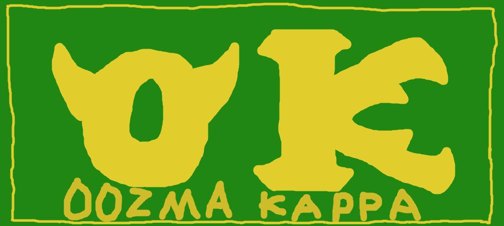 Oozma Kappa Logo by BenBandicoot