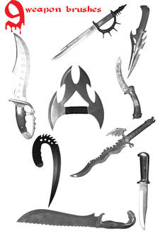 Weapon Brushes