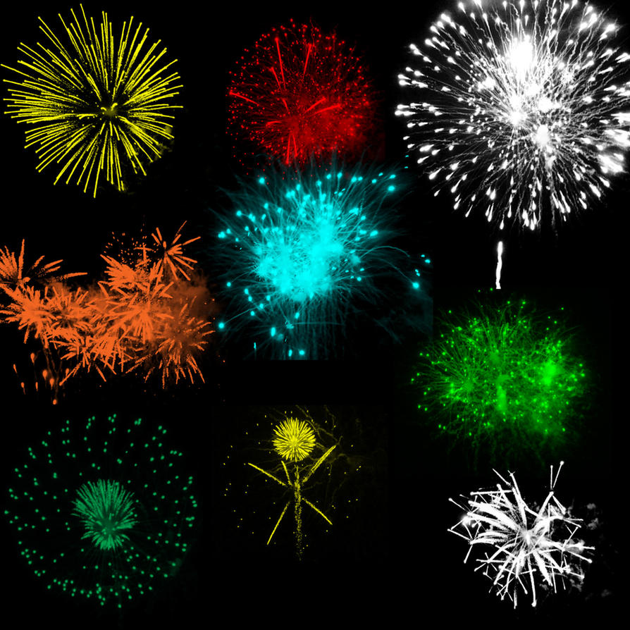 Fireworks 3 brushes by mandykat