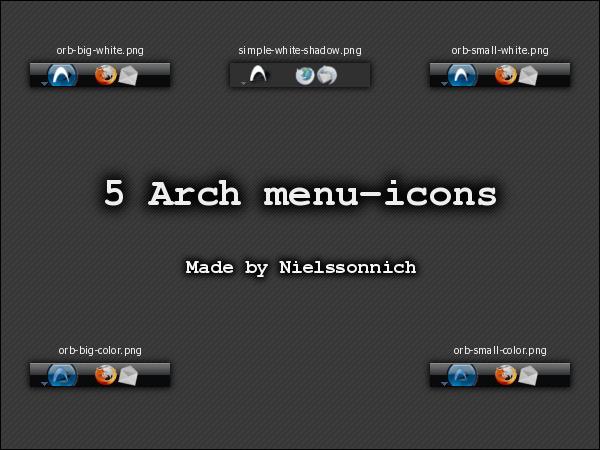 5 Arch menu-icons