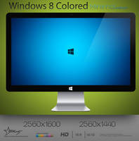 Minimal Windows 8 Colored by SucXceS