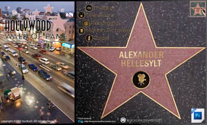 Hollywood Walk of Fame PSD