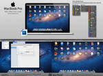 MacBook Pro PSD (Fully Customizable) by SucXceS
