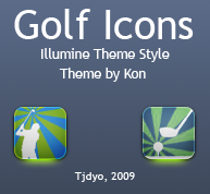 Golf Illumine Style Icon by Tjdyo