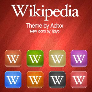 Wikipedia Rozze Style Icons by Tjdyo
