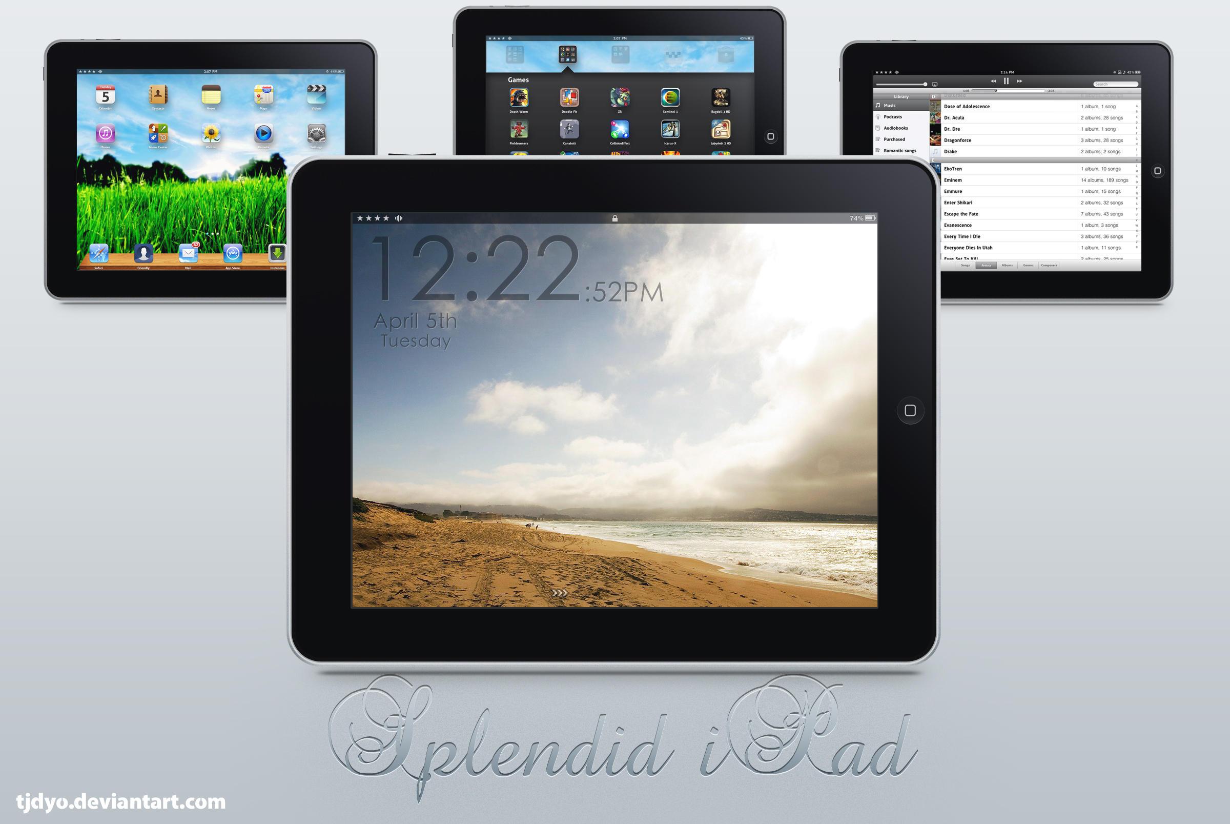 Splendid iPad by Tjdyo