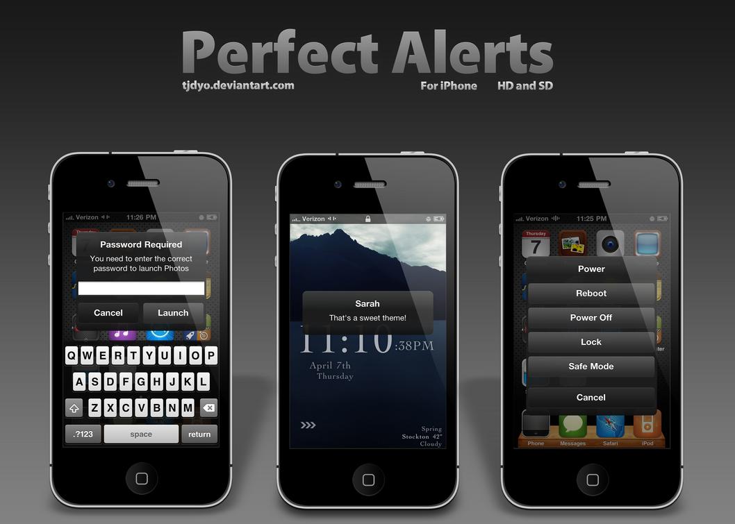 Perfect Alerts by Tjdyo