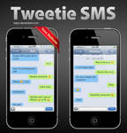 Tweetie SMS for iPhone