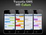 Tweetie SMS HD Colors