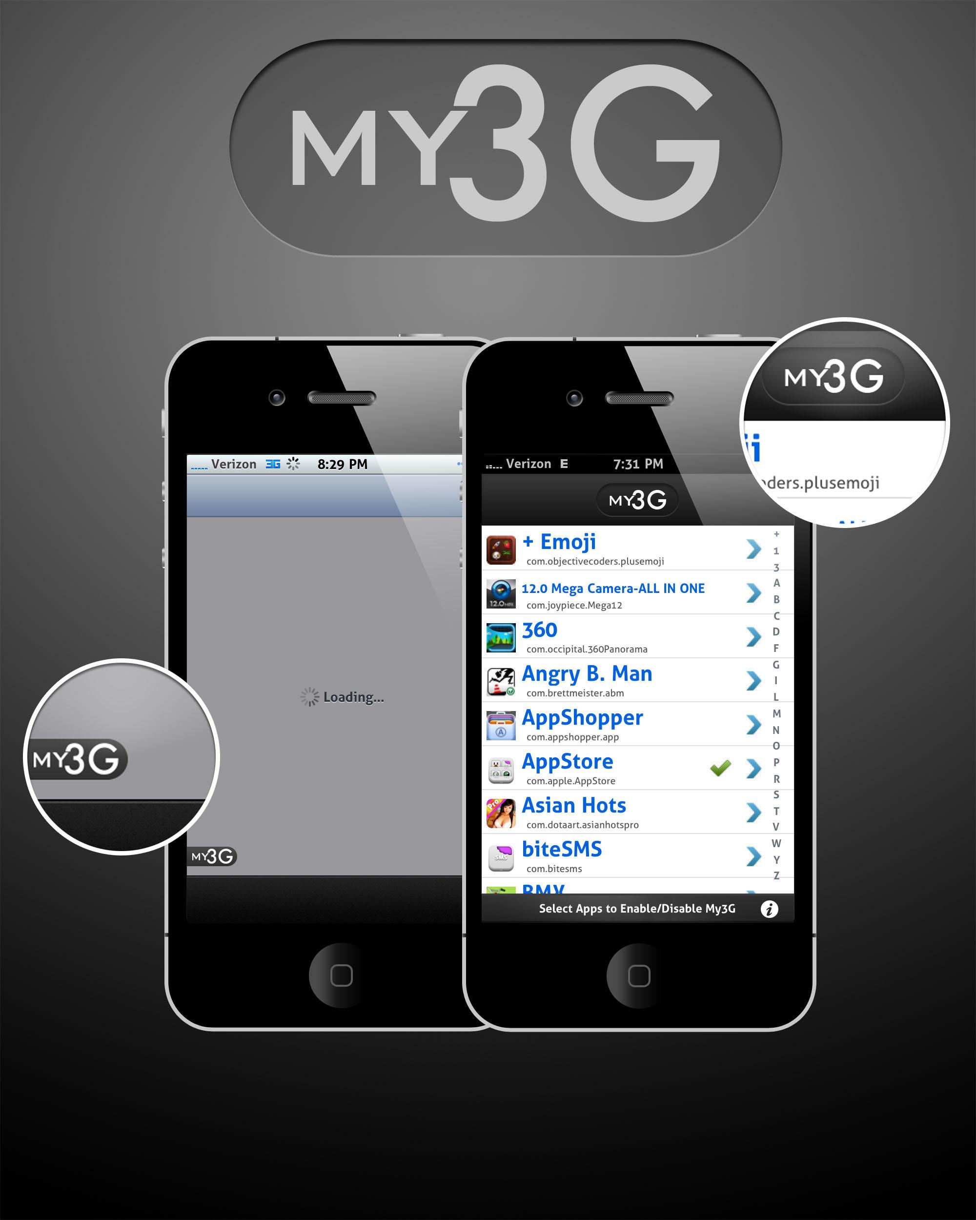 My3G mod by Tjdyo