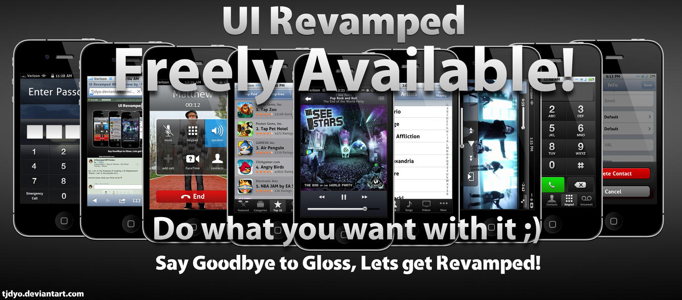 UI Revamped Free! by Tjdyo