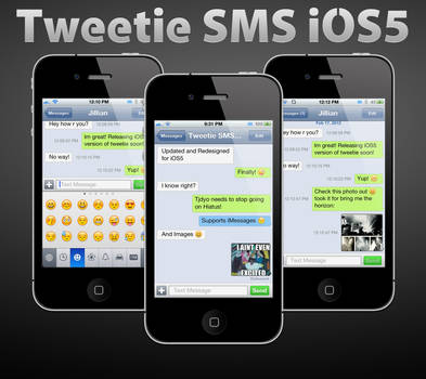 Tweetie SMS iOS5