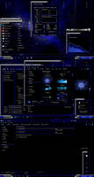 Deep Space Windows 7 theme by Skull1959