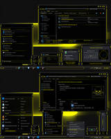 LightSabre-Yellow Theme by Skull1959
