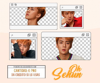 Oh Sehun png pack #1 by pxnkmoon