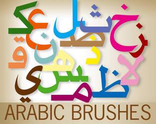 arabic brushes by kachakou