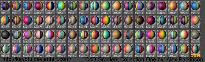 C4D Gradient Collection I