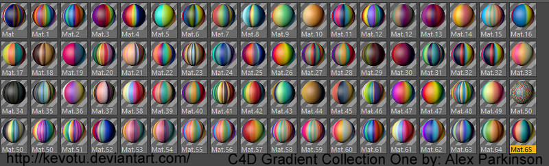 C4D Gradient Collection I