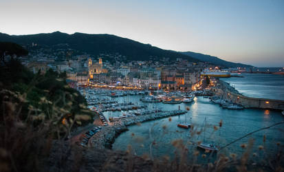 An Evening In Bastia by denjazzer
