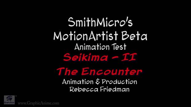 SmithMicro MotionArtist BETA - (Seikima-II)