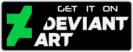 DeviantArt Download Button by HEXcube