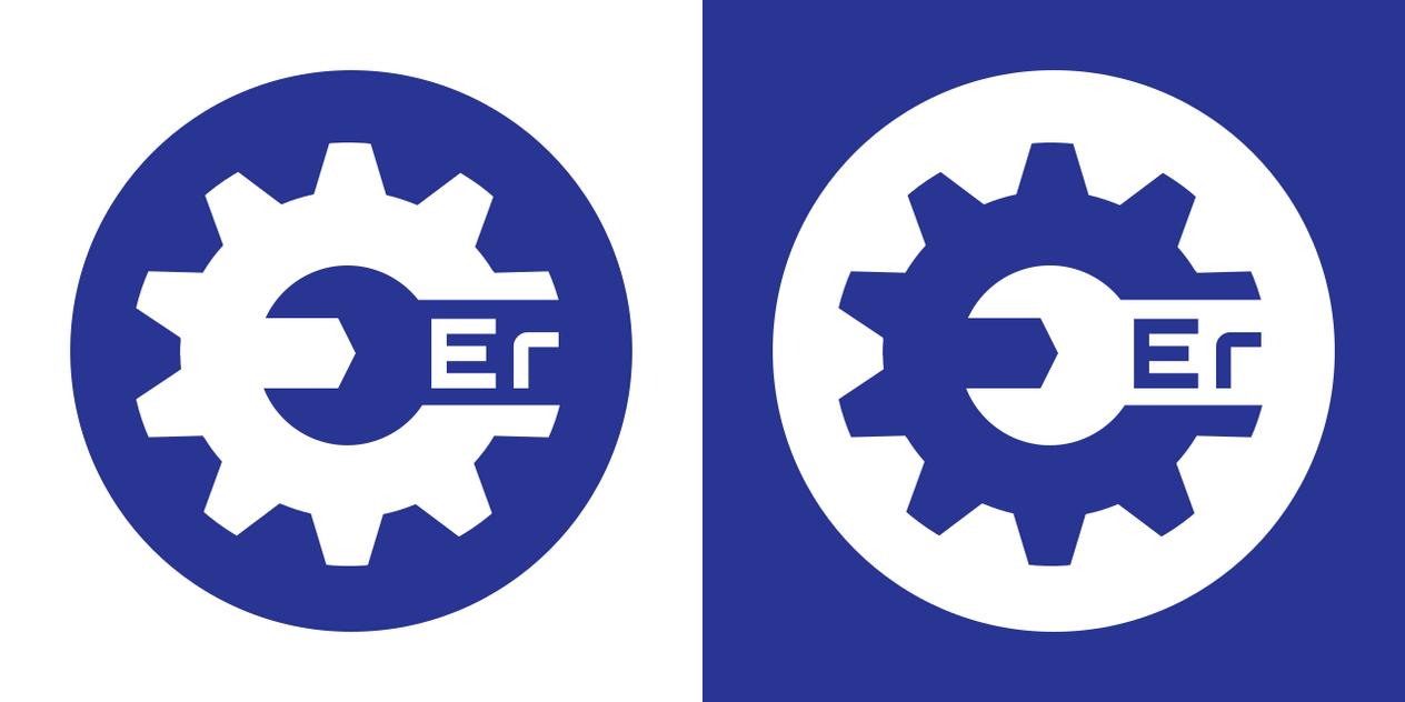 Engineer Logo Circle by HEXcube
